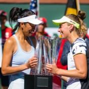 Elise Mertens pakt met dubbelpartner Hsieh Su-Wei eindzege op Indian Wells: 'We zijn een topduo'