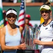 Mertens wint nu ook Indian Wells: niemand dubbelt beter