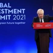 Johnson komt met plan voor nuluitstoot tegen 2050