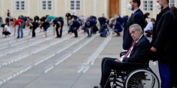 Tsjechen in de ban van 'geheime diagnose' president