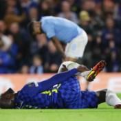 Lukaku valt geblesseerd uit bij Chelsea