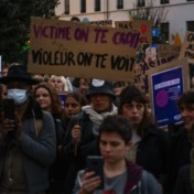 Protest tegen seksueel geweld in Elsene: 'Als ik mijn huis verlaat, wil ik niet dapper maar vrij zijn'