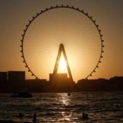 Grootste reuzenrad ter wereld voert 1.750 mensen mee in een rondje