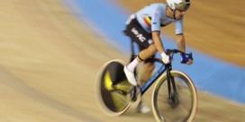 Kenny De Ketele pakt zilver in puntenrit op WK baanwielrennen