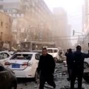 Gasexplosie richt enorme ravage aan in Chinese woonwijk