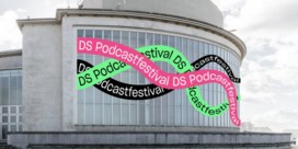 Topaffiche voor eerste podcastfestival De Standaard