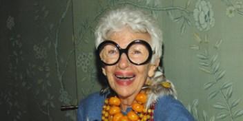 Honderdjarig stijlicoon Iris Apfel: 'Het zotste moet nog komen'