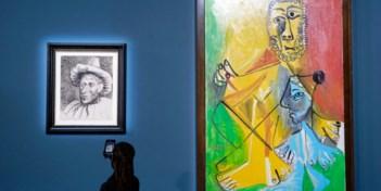 Elf werken van Picasso brengen meer dan 100 miljoen dollar op