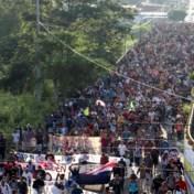 Nieuwe migrantenkaravaan zet koers richting de Verenigde Staten
