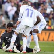 Coach Real Madrid stelt iedereen gerust: 'Niks ernstigs aan de hand met Thibaut Courtois'
