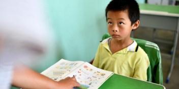 Gestreste Chinese kinderen krijgen minder huiswerk