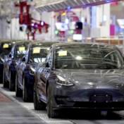Tesla raast Volvo voorbij