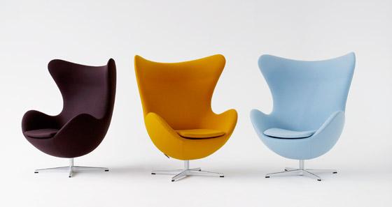 Standaard Egg Chair.Arne Jacobsen De Architect Die We Kennen Van Zijn Stoelen
